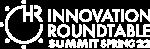 HR IR Summit Spring 22 logo white